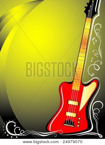 Musical instrument. Background.