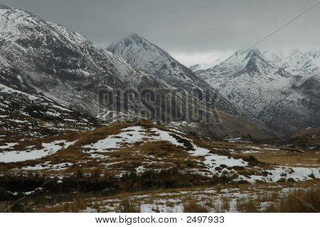 Winter In The Hills, Scotland.