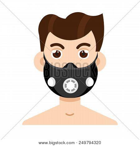 Elevation Training Mask.  Vector Illustration Stock Vector