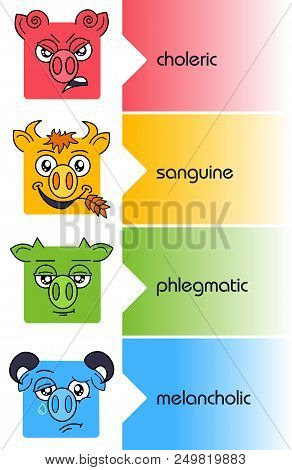 Temperaments Set Personality Types