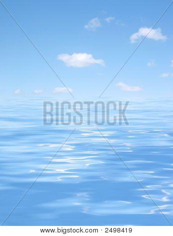 Blue Water Beauty