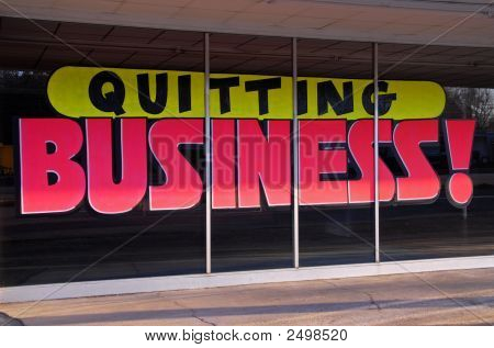 Quitting Business
