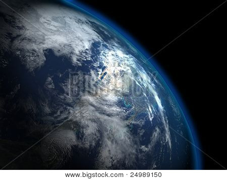 The beautiful planet Earth from the space, some more in my portfolio