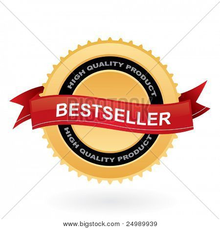 Bestseller vector sign