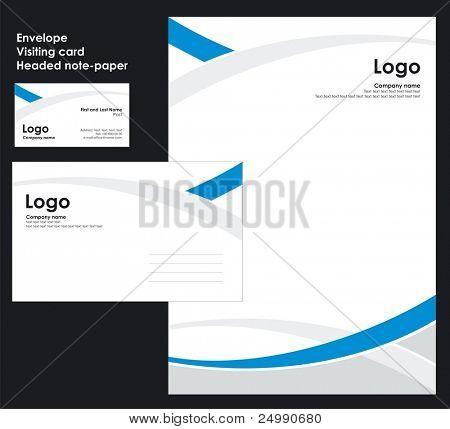 Corporate Identity Template Vector 2