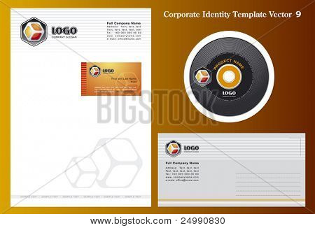 Corporate Vector Business Template 9