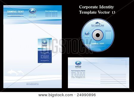Corporate Vector Business Template