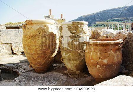 Greece. Knoss palace on island Crete