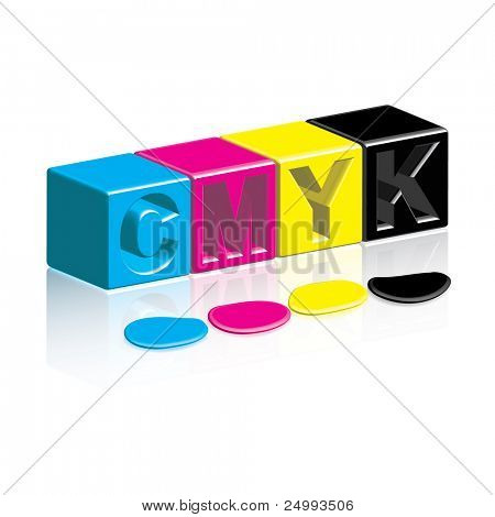CMYK Boxes & Inks