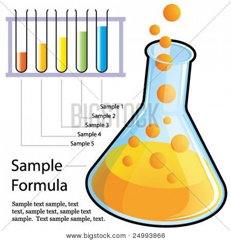 Vector Your own formula design elements set