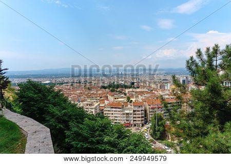 Bursa View From Tophane Park