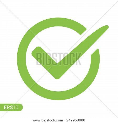 New Check Mark Logo Vector Photo Free Trial Bigstock