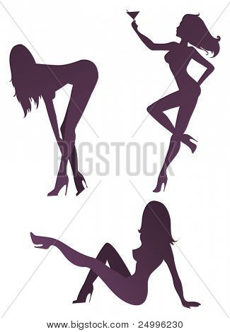 Sexy silhouettes