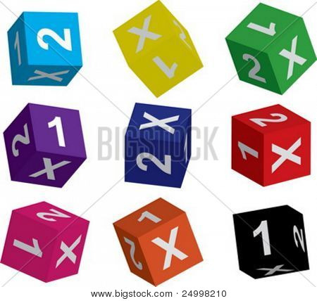 Dices for betting