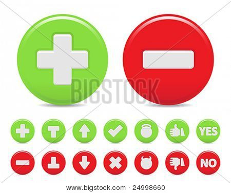 two option icons