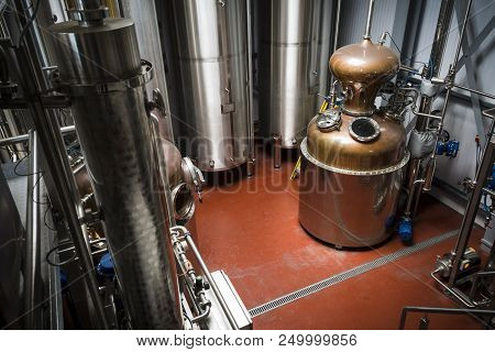 Distillery Equipment For Production Of Vodka And Gin