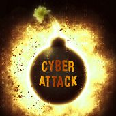Cyber Security Solutions Threat Solved 3d Rendering Shows Success And Guidance Against Internet Risks Like Cybercrime poster