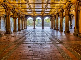 Bethesda Terrace And Tunnel