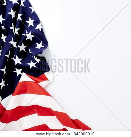 American Flag Wave For Memorial Day Or 4Th Of July