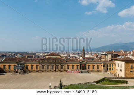 Amazing View From The Top Of The Old City Center And Fashion Museum Located Inside The Boboli Garden