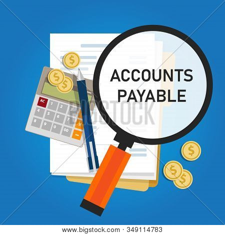 Accounts Payable Accounting Term Within The General Ledger That Represents A Company Obligation To P