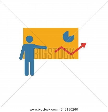 Presentation Skills Icon. Simple Element From Soft Skills Icons Collection. Creative Presentation Sk