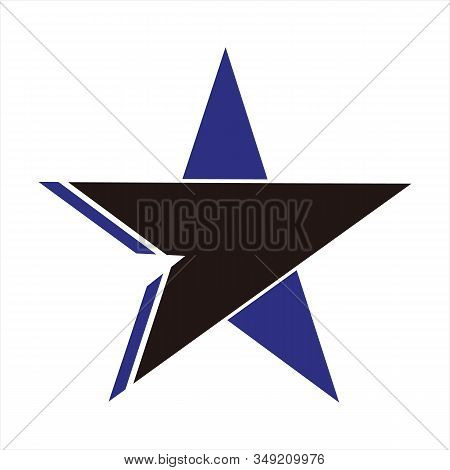 Star Icons, Star Image Icons, Black And Blue Star Icons, Eps10 Star Icons, Flat Star Icons, Star App
