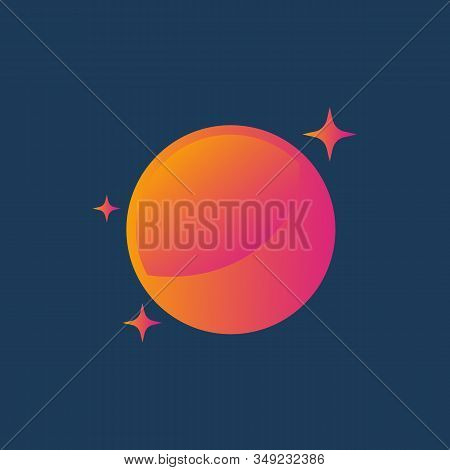 Vector Planet Logo. Orbit Vector And Satellite Logo. Cosmos Logo. Planet Best Logo. Planet Concept L