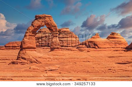 Delicate Arch In Arches National Park In Utah