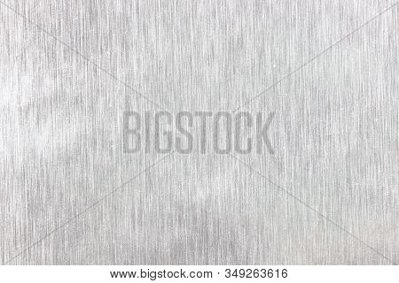The Silver Foil Surface Textured Or Background
