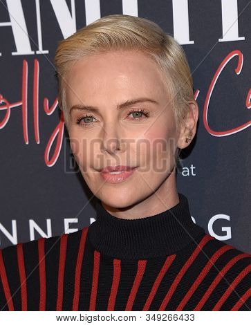 LOS ANGELES - FEB 04:  Charlize Theron arrives for the Annenberg Space For Photography's Vanity Fair: Hollywood Calling Exhibit Opening on February 04, 2020 in Century City, CA