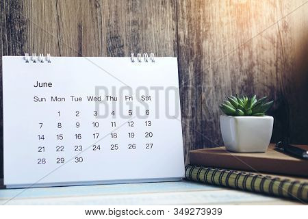 Desktop Calendar And Diary For Planner To Plan Timetable,appointment,organization,management At Home