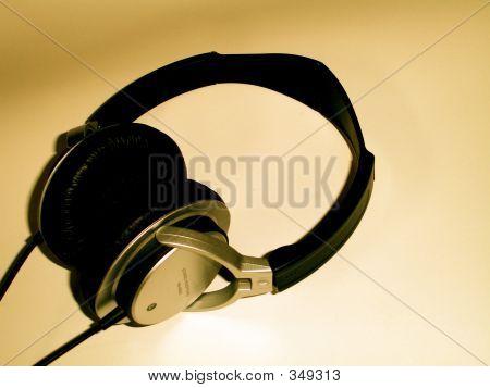 Dark Headphones