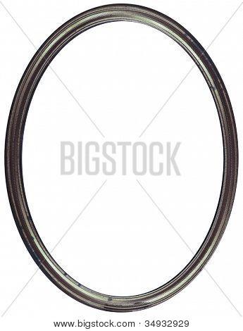 Oval Silver Frame