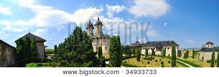 Cetatuia Monastery A Medieval Ensemble Of Monastic Architecture, Iasi, Romania - Panorama