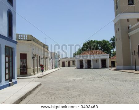 The Hymn Square in Bayamo city Granma Cuba poster