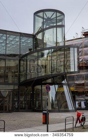 Berlin, Germany- October 9, 2019: Deutsches Historisches Museum - Pei-bau, The German Historical Mus