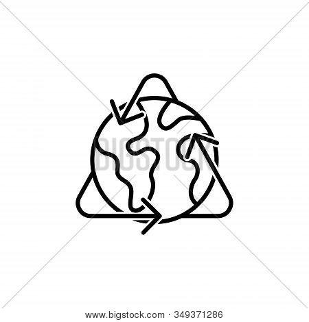 World Globe. Globe icon. Globe vector. Globe icon vector. Globe logo. Globe symbol. Globe web icon. World vector. Globe icon isolated flat on white background. World globe vector icon modern and simple flat symbol for website, mobile, logo, app, UI.