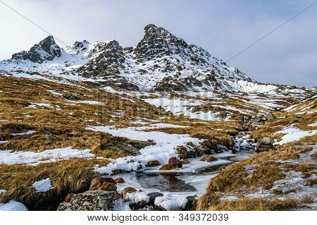 Ben Arthur (the Cobbler), One Of The Most Popular Hills In Scotland