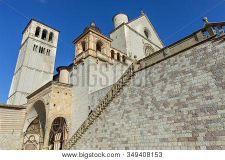 An Up Close Look At Saint Francis Basilica In Italy