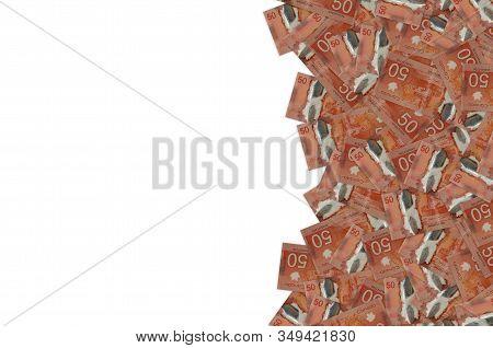 Canadian Coast Guard Ship Amundsen Research Icebreaker On Canada 50 Dollars 2012 Polymer Banknote Pa