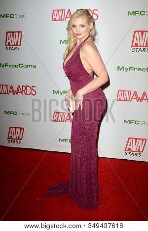 LAS VEGAS - JAN 12:  Katy Jayne at the 2020 AVN (Adult Video News) Awards at the Hard Rock Hotel & Casino on January 12, 2020 in Las Vegas, NV