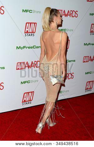 LAS VEGAS - JAN 12:  Emma Hix at the 2020 AVN (Adult Video News) Awards at the Hard Rock Hotel & Casino on January 12, 2020 in Las Vegas, NV