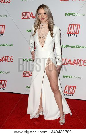 LAS VEGAS - JAN 12:  Allie Awesome at the 2020 AVN (Adult Video News) Awards at the Hard Rock Hotel & Casino on January 12, 2020 in Las Vegas, NV