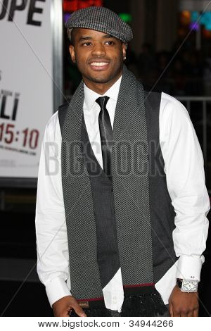 HOLLYWOOD - JAN 11:  Larenz Tate attends The Book of Eli premiere on January 11 2010 at Grauman's Chinese Theater in Hollywood, California.