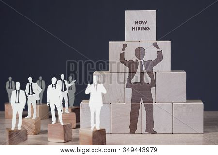 Business, Technology, Internet And Network Concept. Concept Meaning Finding Evaluating Working Relat
