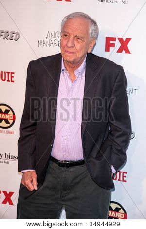 HOLLYWOOD, CA - JUNE 26: Garry Marshall arrives at FX Summer Comedies party at Lure on June 26, 2012 in Hollywood, California.