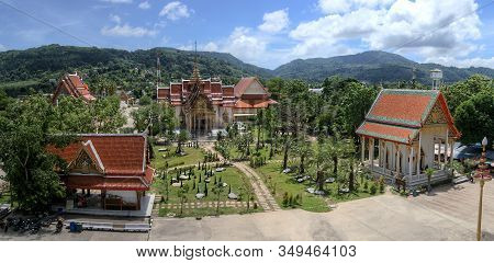 The Most Important Of The 29 Buddhist Temples Of Phuket Is Wat Chalong Or Formally Wat Chaiyatharara