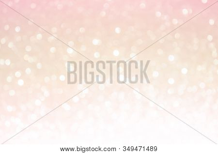 Pink Gold, Pink Bokeh,circle Abstract Light Background,pink Gold Shining Lights,sparkling Glittering