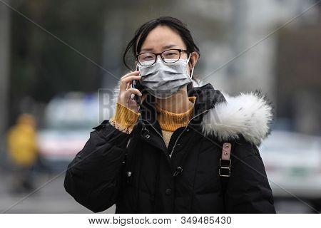 Wuhan Coronavirus Virus Concept. Chines Coronavirus Outbreak